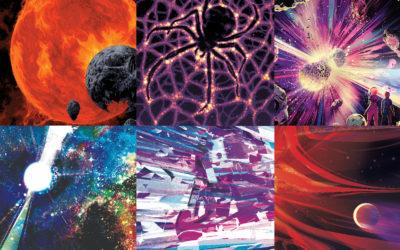 Los carteles cinematográficos de la NASA para Halloween