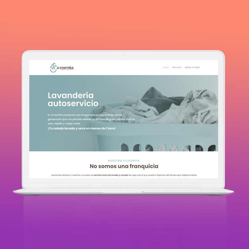 Web A Fontiña